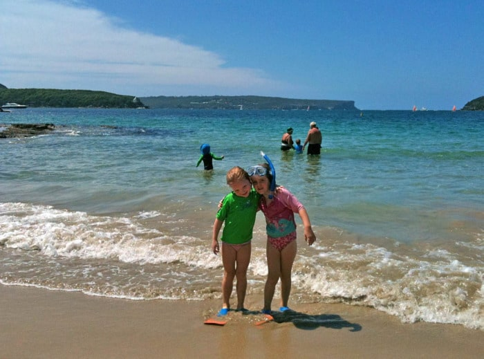 image of children snorkelling at Balmoral