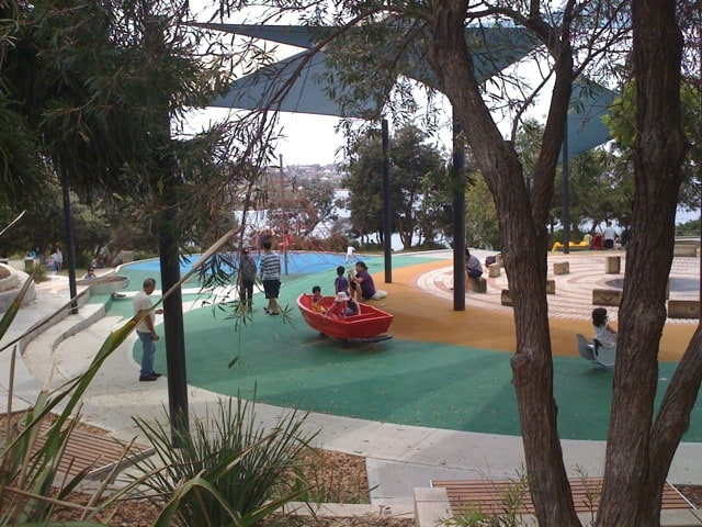 Coogee Beach playground 2