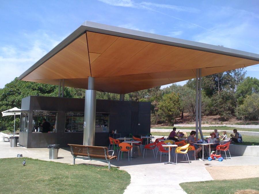 Sydney Park Cafe playground