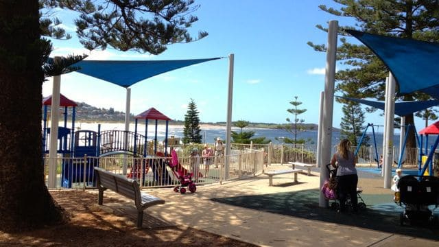 playground at Dee Why reserve