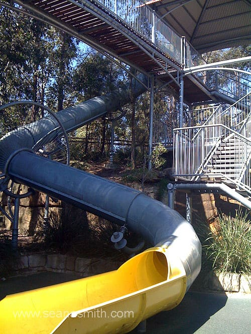 Putney Park playground sydney water play