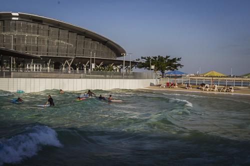 Darwin wave pool darwin waterfront