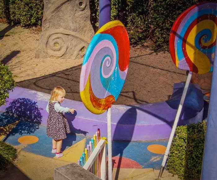 Dragonfly cafe Eden Gardens Ryde playground