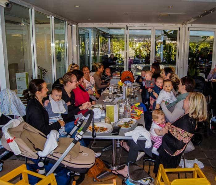 Dragonfly cafe Eden Gardens Ryde