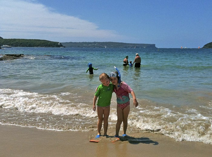 Balmoral beach, baths playground