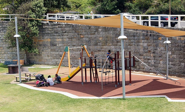 Tamarama beach playground
