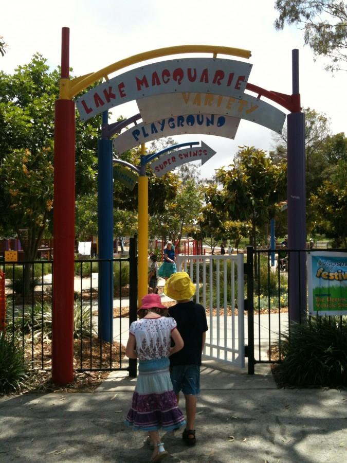 Speers entrance