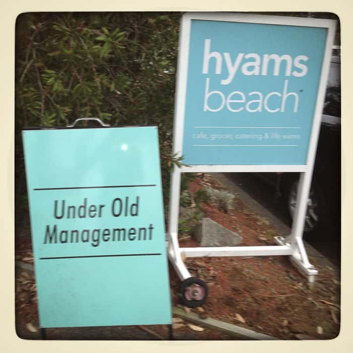 hyams bay store and cafe