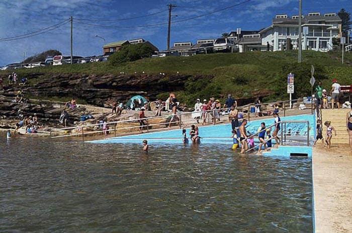 South Curl Curl rock pool beach kids children family