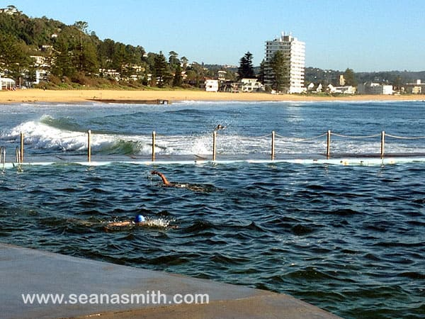Collaroy Beach rockpool
