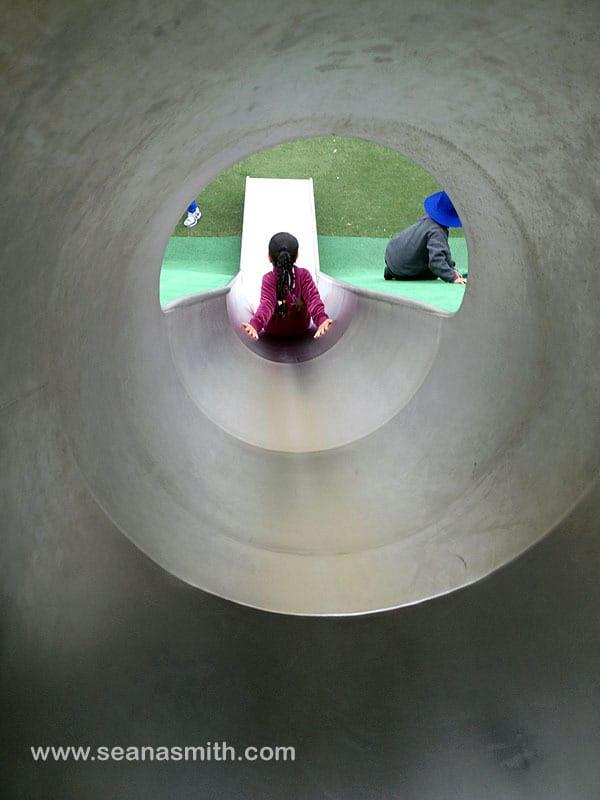 Blaxland Riverside Park slide