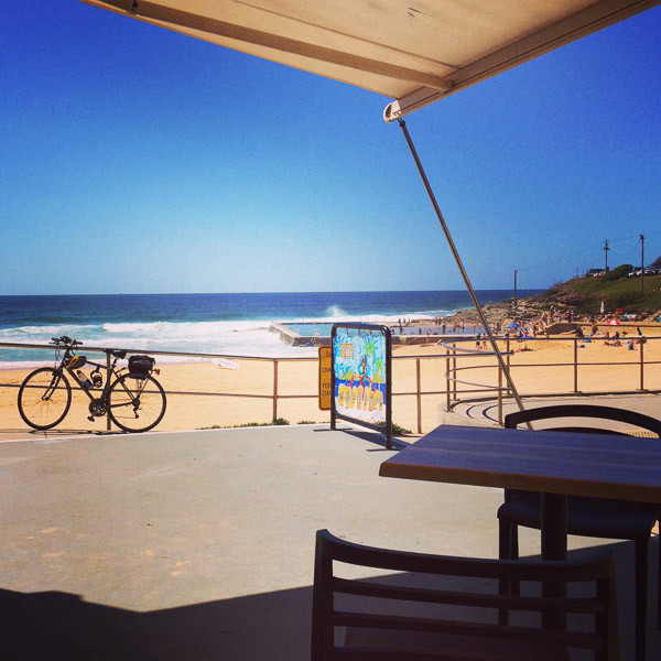 South Curl Curl Cafe beach