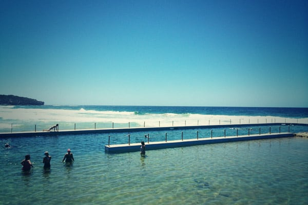 South Curl Curl Cafe beach ocean pool
