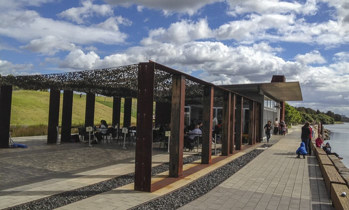 armory wharf cafe at blaxland riverside park