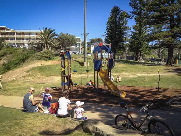 playground at Avalon beach