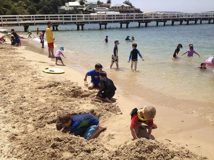Clifton Gardens Mosman beach playground