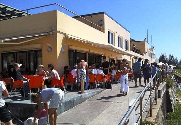 South Curl Curl Cafe beach