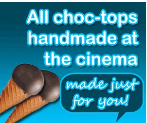 Roseville cinema baby kids choc tops
