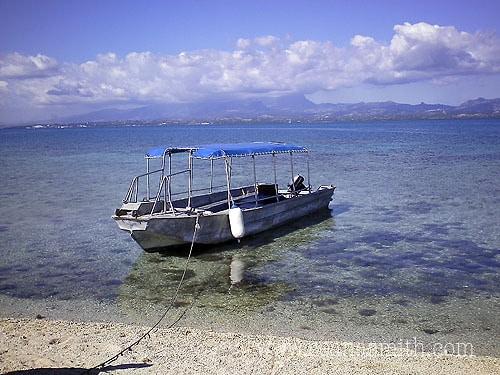 Fiji island day trip little boat