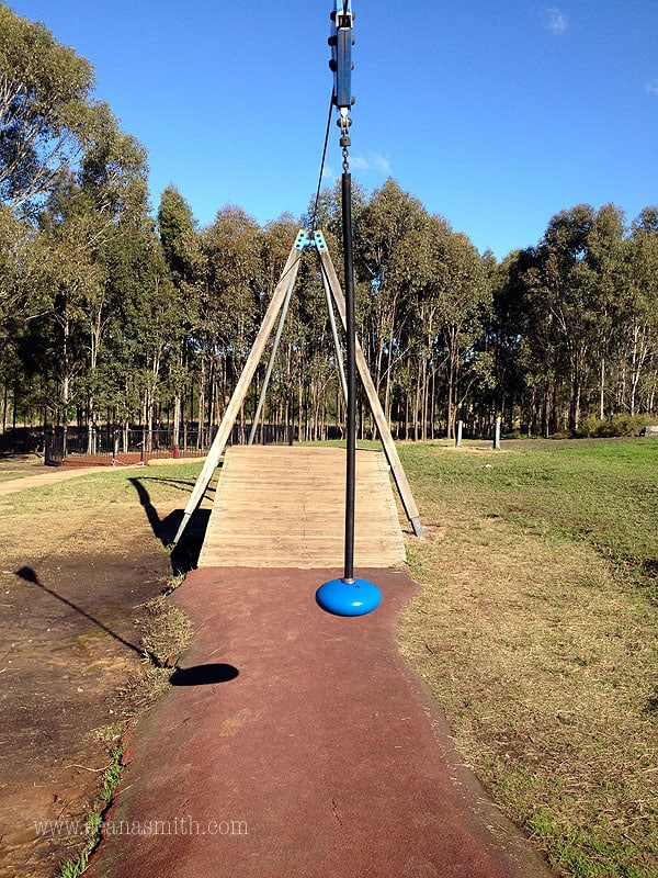 Rouse Hill Regional Park Playground flying fox