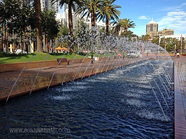 Darling Harbour playground darling quarter