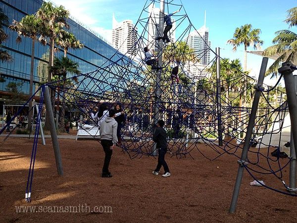 Darling Harbour playground darling quarter