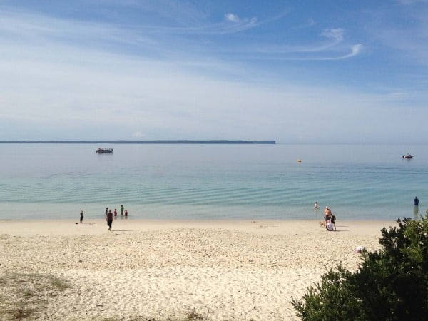 Huskisson beach jervis bay