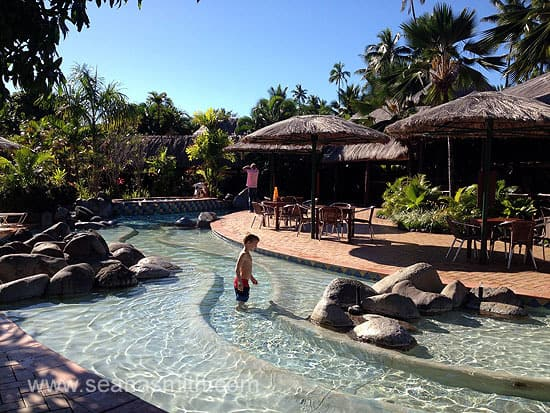 Outrigger On The Lagoon kids water play