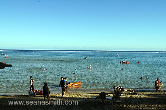 Outrigger On The Lagoon lagoon high tide