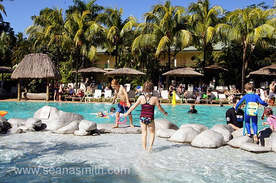 Outrigger On the Lagoon kiddy pool