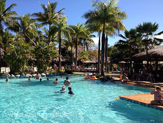 Outrigger On The Lagoon main pool