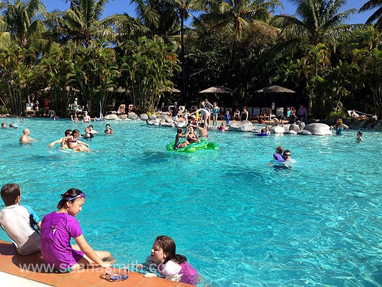 Outrigger On The Lagoon pool kids