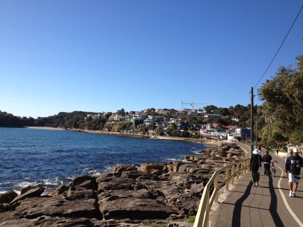 Manly to Shelly Beach walkway