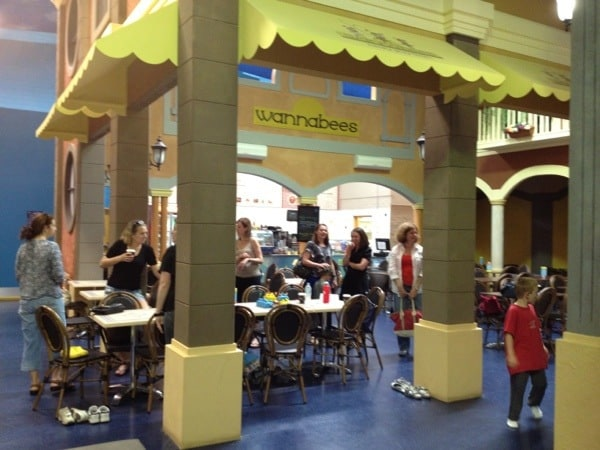 sydney indoor play centre cafe