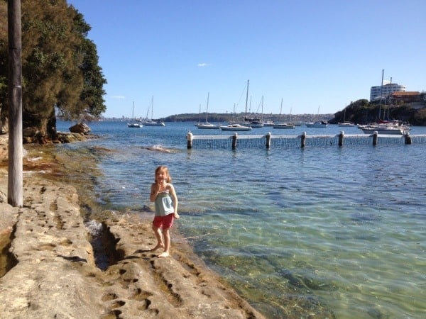 Little Manly Cove rock pools