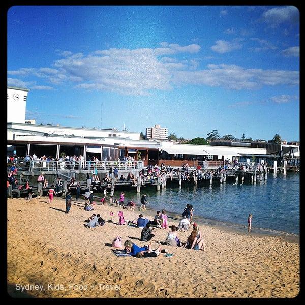 Manly Pier from West Esplanade beach