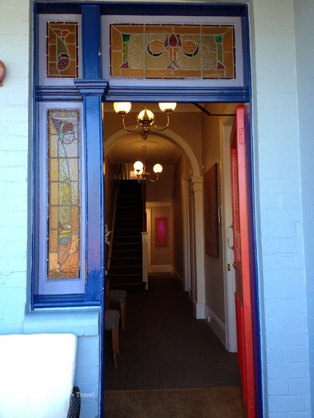 cremorne point manor doorway