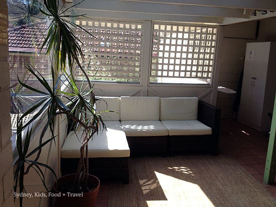 sitting area Cremorne Point Manor