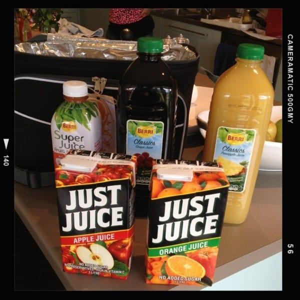 fruit juice pack