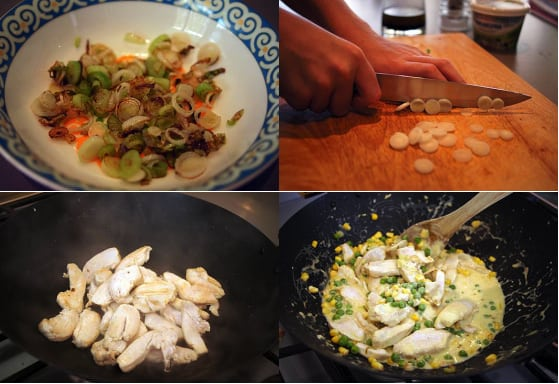 Thai green chicken curry philadelphia