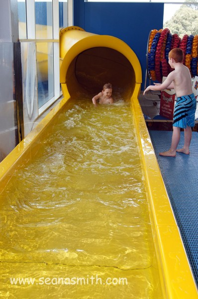 Ryde Aquatic Centre water slide
