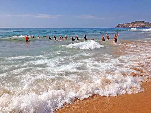 Mona Vale beach swimming Can Too