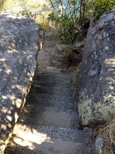 steps to lighthouse at Cremorne Point