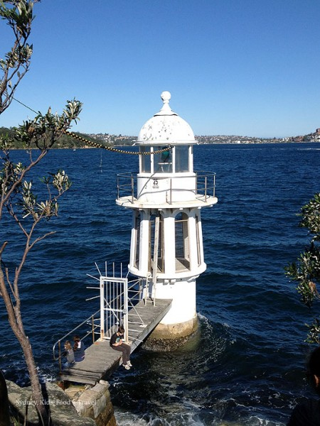 Robertson Point lighthouse, cremorne point.
