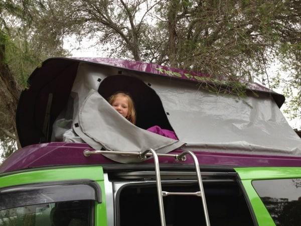 Jucy rentals campervan 4 berth