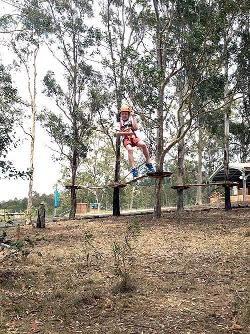 Tree Tops Adventure Park Sydney