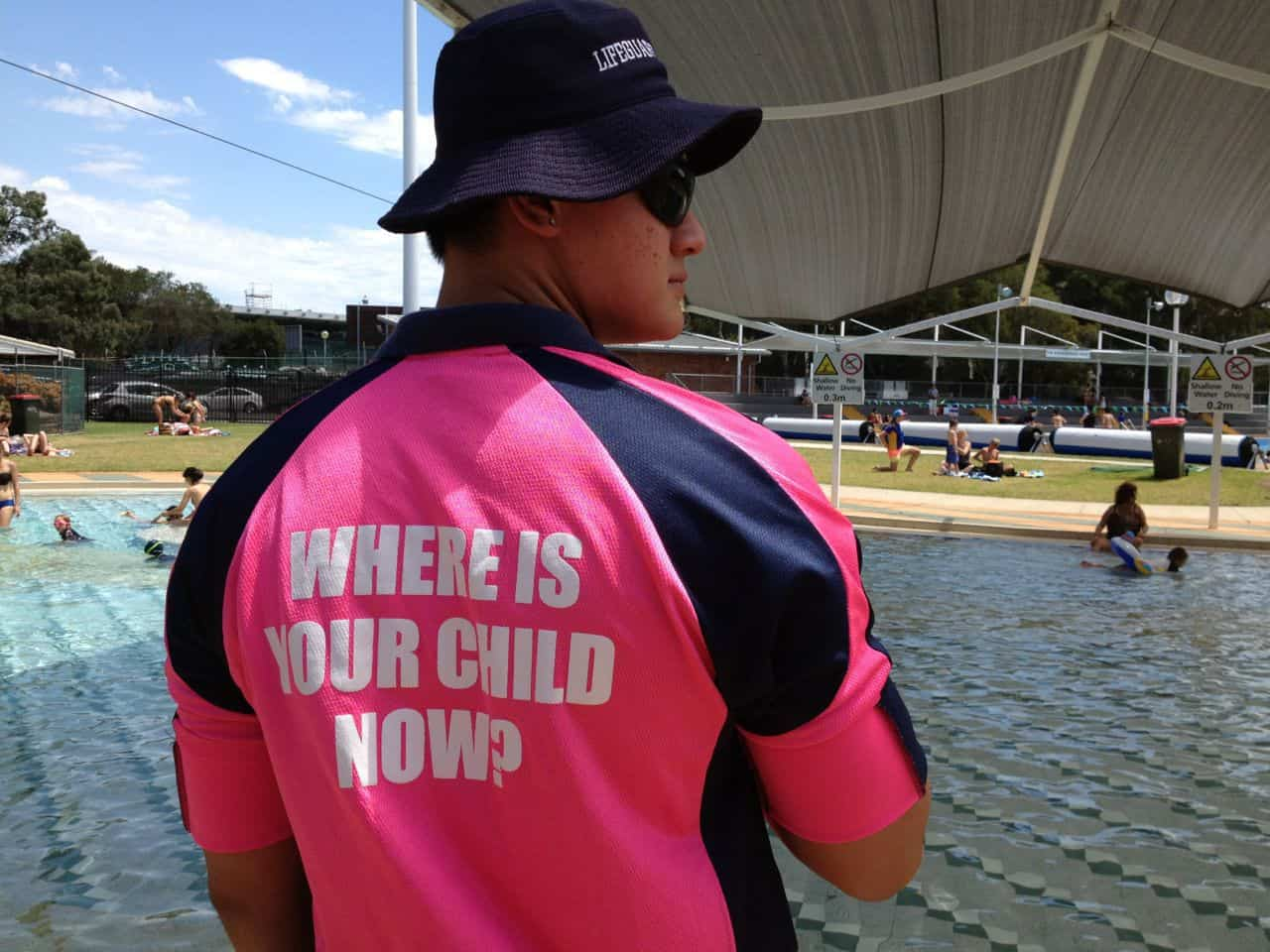 parramatta swimming pool attendant