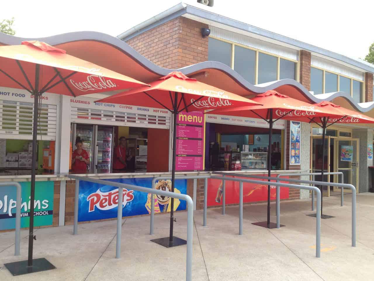 Parramatta Swimming Centre kiosk