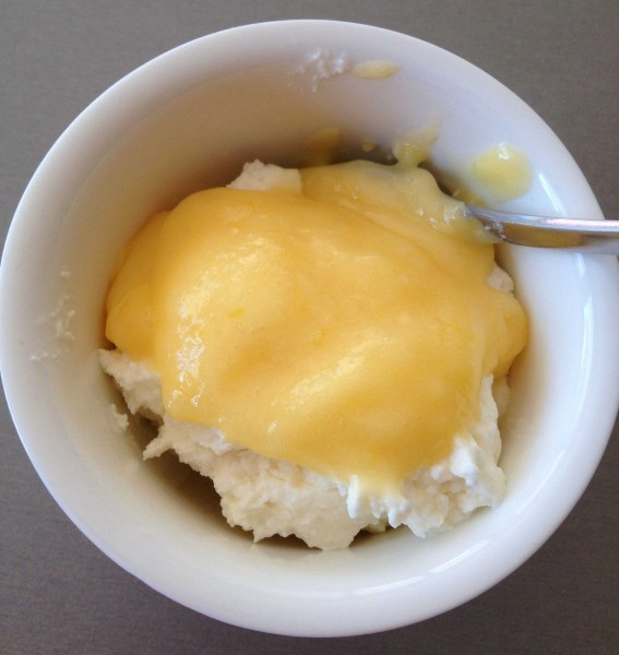 thermomix lemon curd with cottage cheese