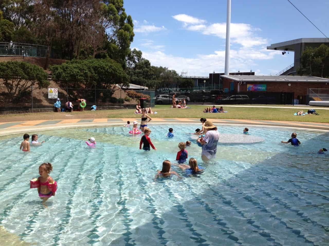 parramatta swimming pool toddler